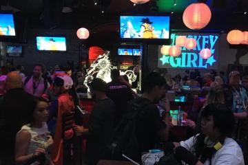 Fuimos a una fiesta de Dragon Ball en Comic-Con y con esto nos topamos