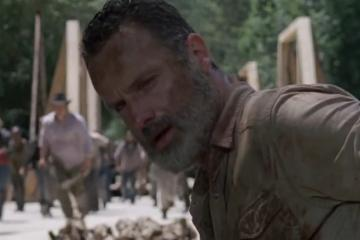 Mira a Rick por última vez en nuevo trailer de The Walking Dead