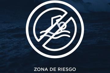 Playas de Rosarito alerta sobre fuerte oleaje