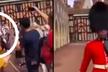 VIDEO: Nunca te cruces en el camino de la Reina o esto te puede pasar