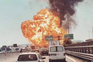 Aterradora explosión cerca de aeropuerto en Italia