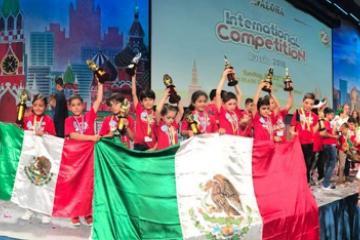México conquista Rusia, niños ganan campeonato de matemáticas