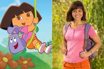 Primer vistazo a la película de 'Dora la exploradora'