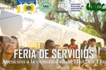 Ofrecerán servicios de salud gratuitos a haitianos en UABC