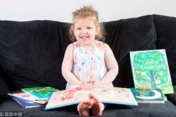 La niña de 3 años más inteligente que Einstein y Stephen Hawkings