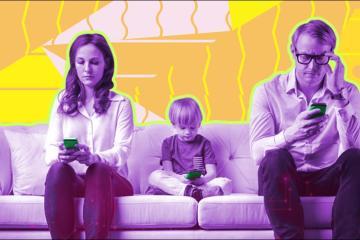 Los padres también son victimas de la tecnología