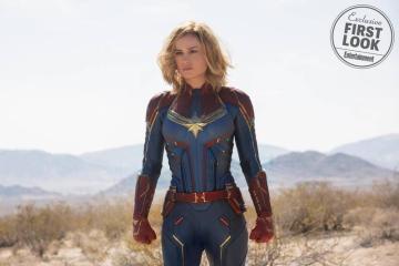 Captain Marvel: Nuevas fotos presentan a Nick Fury joven