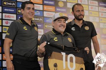 Maradona está comprometido con Dorados