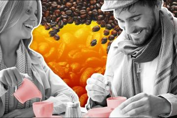 Tomar café hace que las personas te gusten más