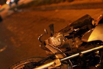 Muere decapitado en accidente motociclista