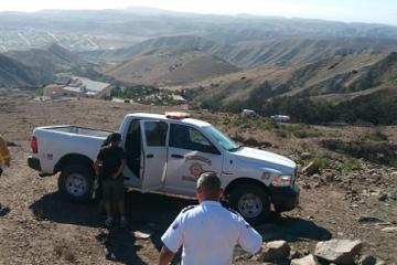 """Rescatan a 5 senderistas en cerro """"El Coronel"""""""