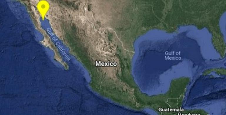 Se registra temblor al este de San Felipe