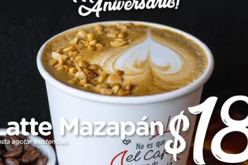 Corre por tu café de mazapán a $18 pesos
