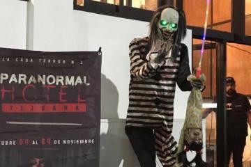 Sobreviví el Paranormal Hotel de Tijuana