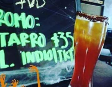 Prueba esta bebida halloweenesca en Tijuana