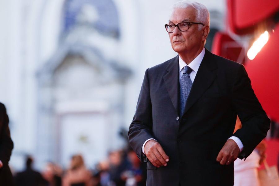 El presidente Baratta en la Alfombra roja del Festival Internacional de cine de Venecia