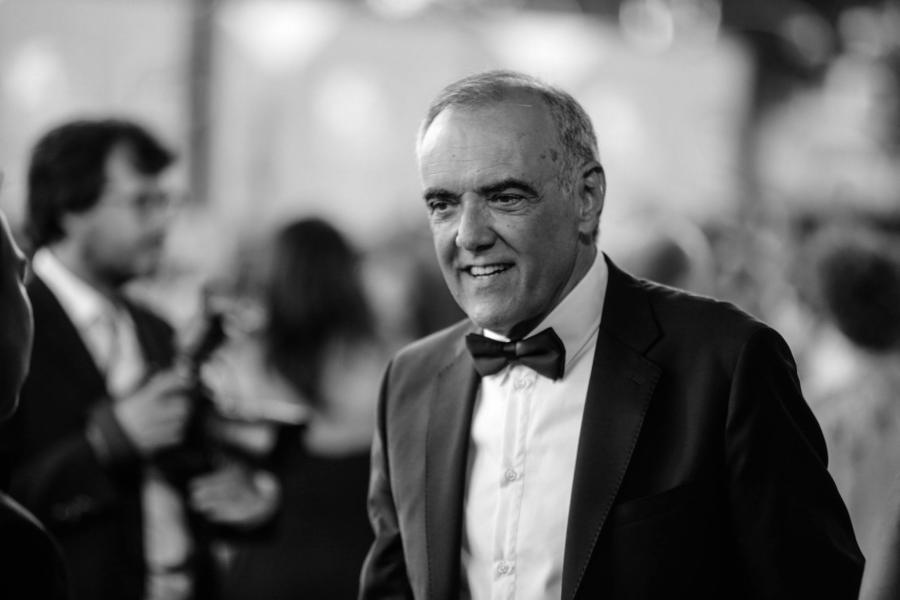 Alberto Barbera en el Festival Internacional de cine de Venecia