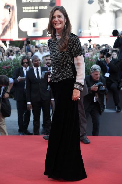 Chiara Mastroianni en la alfombra roja