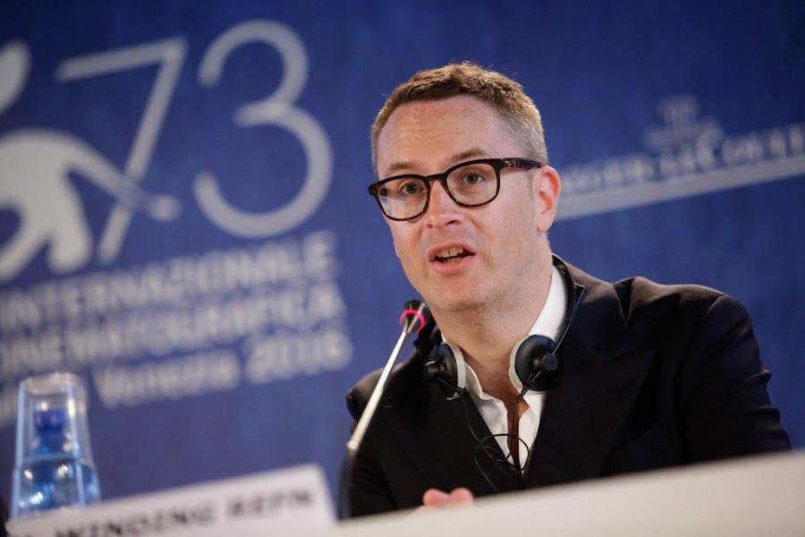Nicolas Winding Refn en conferencia de prensa