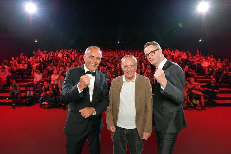 Nicolas Winding Refn, Dario Argento y Alberto Barbera