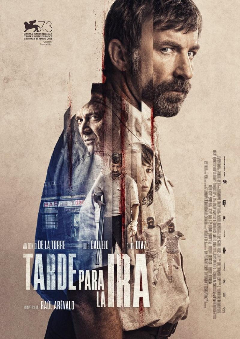 Poster Tarde para la Ira (2016)