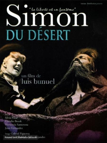 Póster francés de Simón del desierto