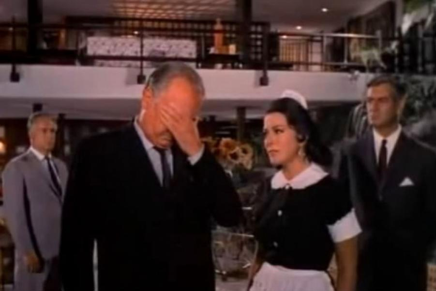 Silvia Pinal en un fotograma de María Isabel (1968)