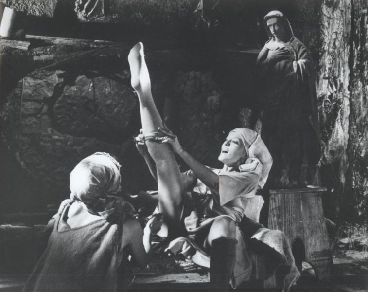 Pinal en una imagen de Divinas palabras (1978)