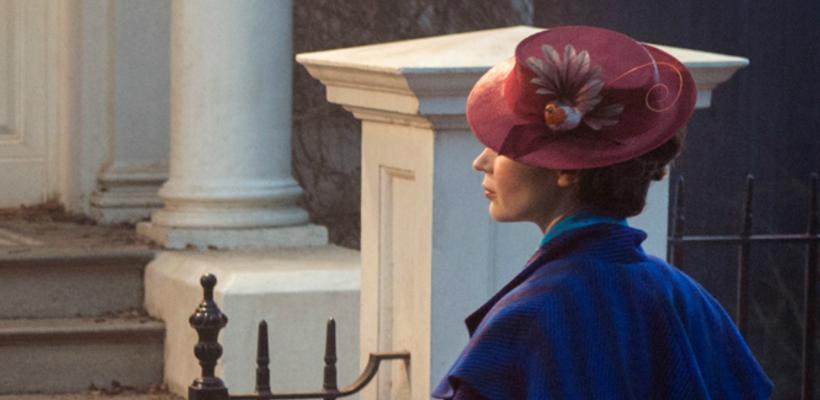 Ve la primera imagen de Emily Blunt como Mary Poppins