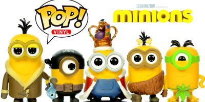 Diez colecciones de Funko Pop! Vinyl para niños