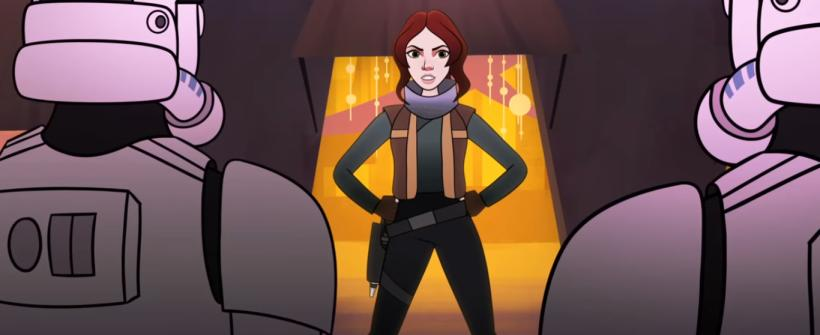 Star Wars Forces of Destiny - The Stranger