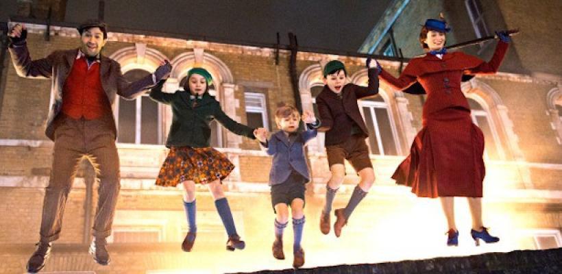 Mary Poppins Returns: Emily Blunt fascinó en la Expo D23 con el primer clip de la película