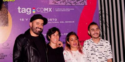 ¿Qué habrá en el TagCDMX 2017?: Lista de invitados