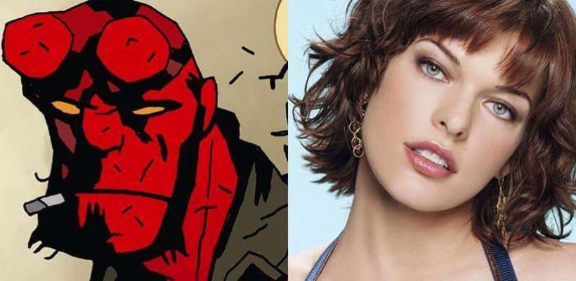 Milla Jovovich será la villana en la nueva versión de Hellboy