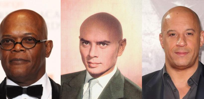 Sin un pelo de tontos: los calvos más famosos de Hollywood