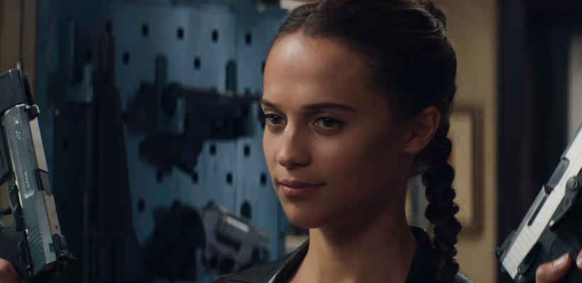 Tomb Raider: mira el tráiler oficial y un detrás de cámaras con Alicia Vikander
