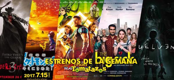 Cartelera de cines en México del 3 de noviembre de 2017