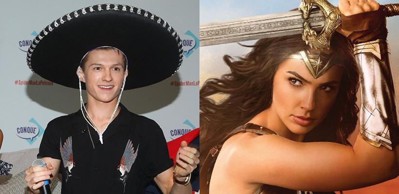 Mujer Maravilla y Tom Holland son la película y el actor más famosos de Tumblr