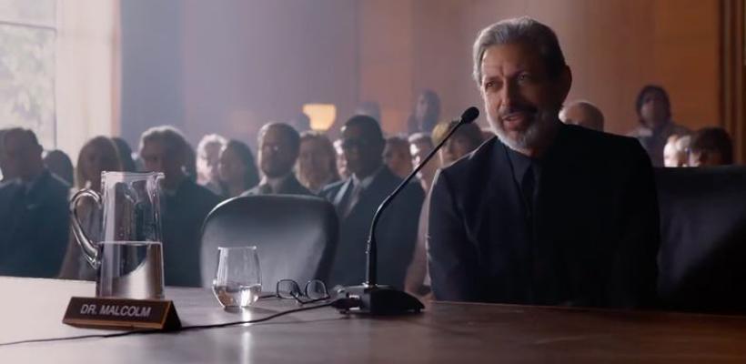Nuevo clip de Jurassic World: El Reino Caído muestra el regreso de Jeff Goldblum a la franquicia