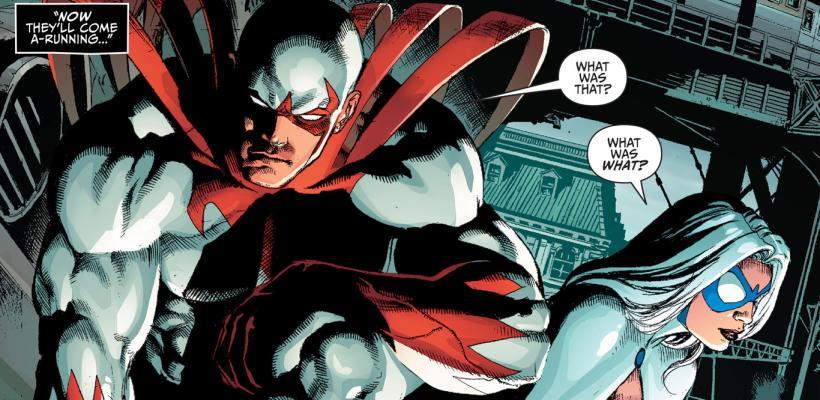 Te mostramos la primera imagen de Hawk y Dove en la serie live-action de los Teen Titans
