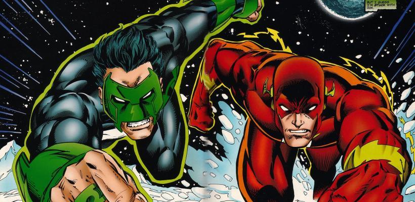 Una película en solitario de Flash iba a introducir a Linterna Verde