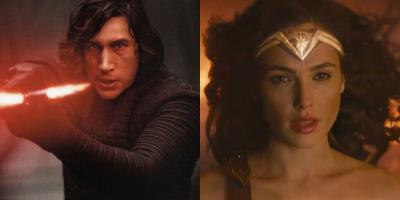 Star Wars: Los Últimos Jedi quita el puesto a Mujer Maravilla de la segunda película más taquillera de 2017