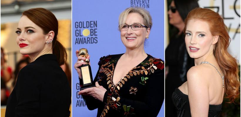 Por esta razón, actrices de Hollywood vestirán de negro en los Globos de Oro