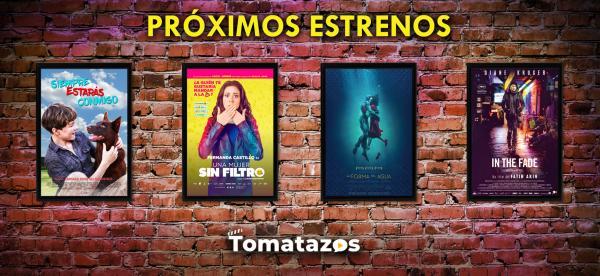 Estrenos en cines del 12 de enero de 2018