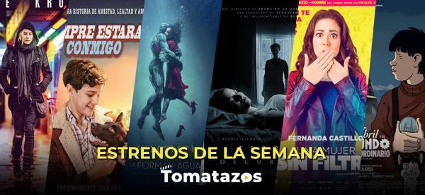 Estrenos en cines de México del 12 de enero de 2018