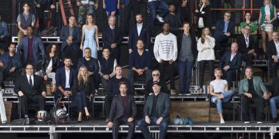 Estos actores fueron excluidos de la foto del 10 aniversario del Universo Cinematográfico de Marvel