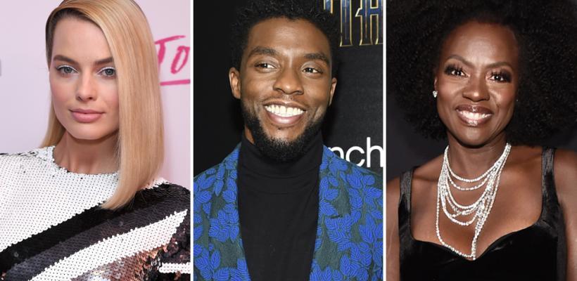 Margot Robbie, Emma Stone y Chadwick Boseman, entre los presentadores en los Óscar 2018