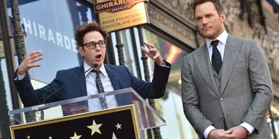 James Gunn defiende a Chris Pratt de los fans de Kevin Smith en Internet
