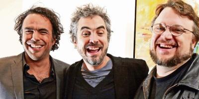 Alfonso Cuarón y Alejando González Iñárritu celebran el triunfo de Guillermo del Toro en los Óscar con unas emotivas palabras