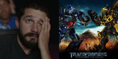 Shia LaBeouf arremete contra la saga Transformers: son irrelevantes
